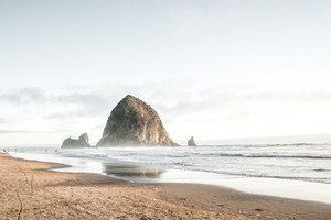 Cannon beach in United States