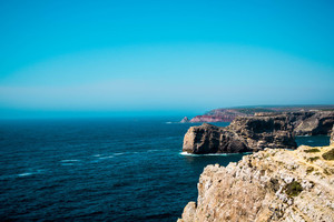 View over Cape St. Vincent, Sagres