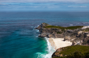 Beach of Cape of Good Hope, Cape Town, South Africa