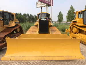 Bulldozer front view