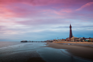 View Central Pier, Blackpool