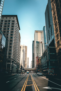 Streets in Chicago