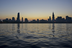 Chicago from Michigan Lake