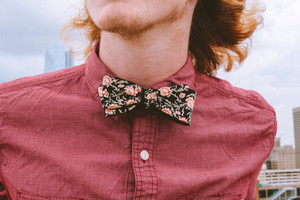 Man with bow tie