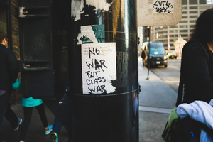 Class War message