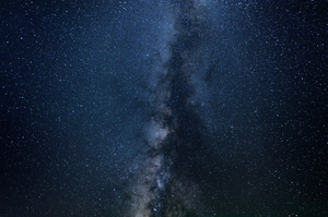 Closeup Milky Way