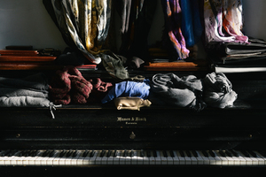Clothes on the keys