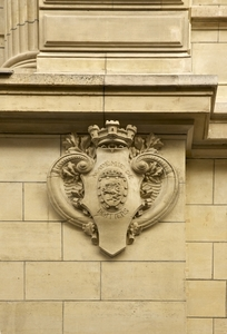Coat of arms on the wall