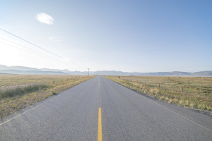 Empty road image