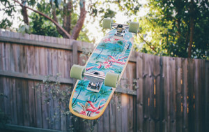 Colorful skateboard