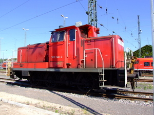 Menor red de locomotora
