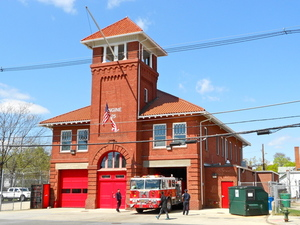 Historic firehouse
