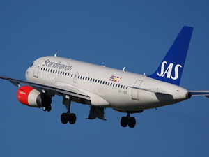 Airbus from Scandinavian airlines