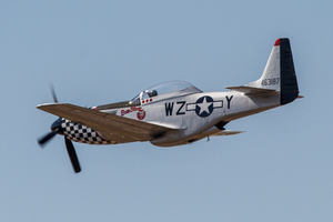 P-51 Mustang Alliance Air Show