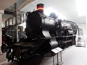 P 931 steam locomotive