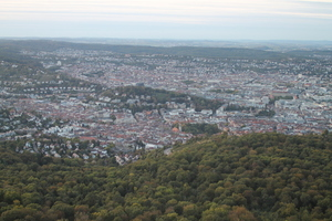 Stuttgart  panoramic view