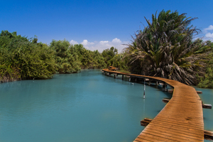 Tel Afek nature reserve in Israel