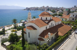 Church In Sarande, Albania