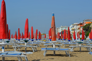 Beach in Lido di Jesolo