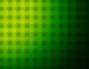 Green grid blur effect