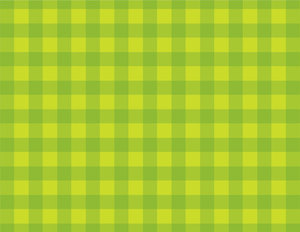 Checkered green background
