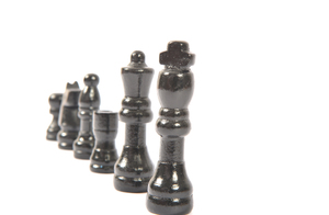 Black chess figures