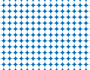Dotted pattern blue background
