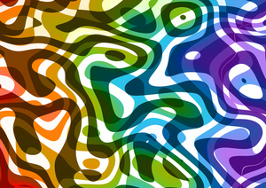 Liquid colors background