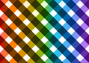 Colored checkered background
