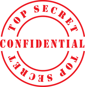 Confidential top secret