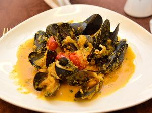 Mussels meal