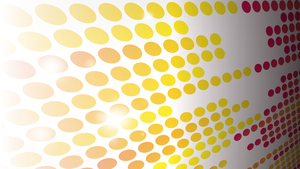Slide background yellow and red dots