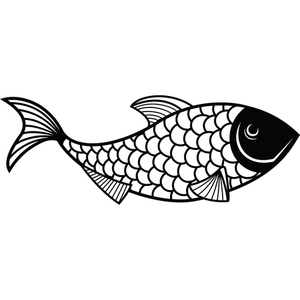 Art illustration poisson