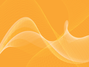 Flowing lines yellow background