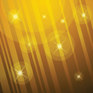 Yellow glowing background