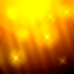 Yellow glowing lights background