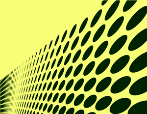 Halftone effect yellow background
