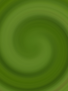 Swirl effect on green background