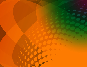 Abstract halftone gradient