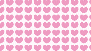 Hearts pattern slide background