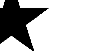 Black star background