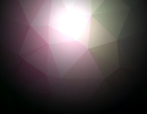 Polygonal pattern dark background