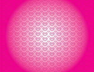 Pink background love theme