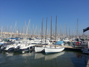 Marina in Marseille