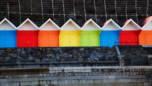 Multicolored Huts
