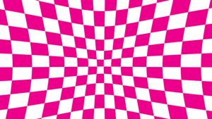 Illusion background pink tiles