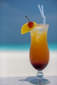 Refreshing Tropical Beverage