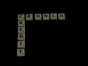 Credit crunch scrabble word