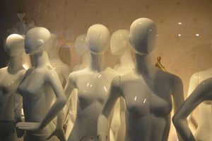 Mannequins for display