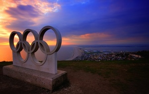 Olympic Rings at Portland